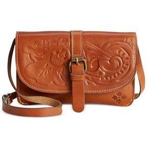 Patricia Nash Tooled Torri Crossbody Bag